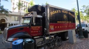トラック用タイヤ空気圧モニタリング・システム