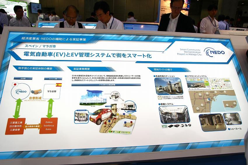 電気自動車(EV)とEV管理システムで街をスマート化
