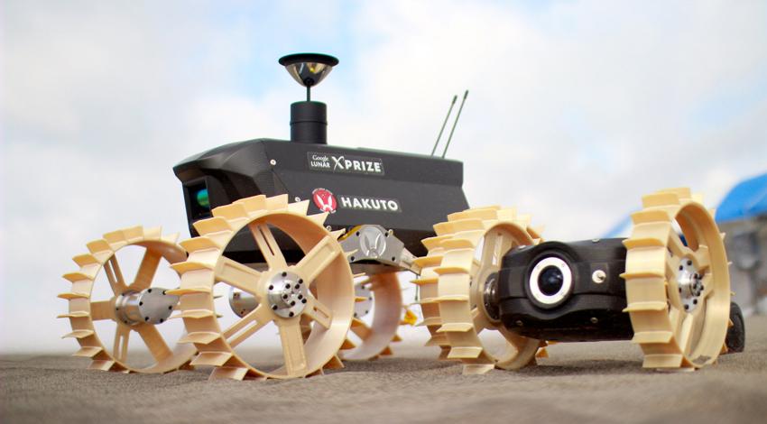 日本初の民間月面探査チーム「HAKUTO」、丸紅情報システムズが3Dプリンター、3Dスキャナーで開発を支援