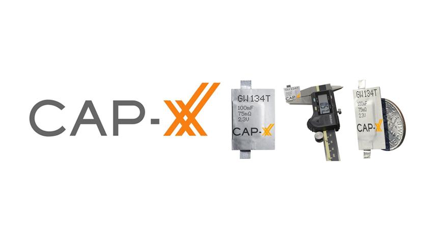 【CAP-XX】世界最薄0.6mmのスーパーキャパシタ(電気二重層キャパシタ)を開発