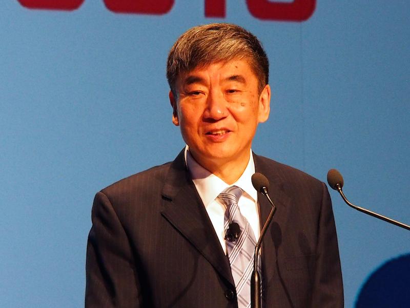 中国移動の会長、シー・グオホワ氏