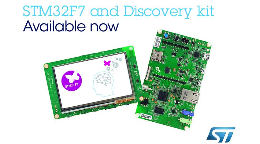STマイクロエレクトロニクス、市場初のARM(R) Cortex(R)-M7搭載マイコンであるSTM32F7の量産を開始