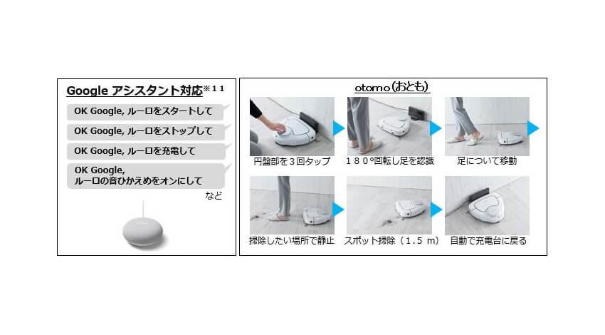パナソニック、レーザーSLAM搭載のロボット掃除機「RULO」発売