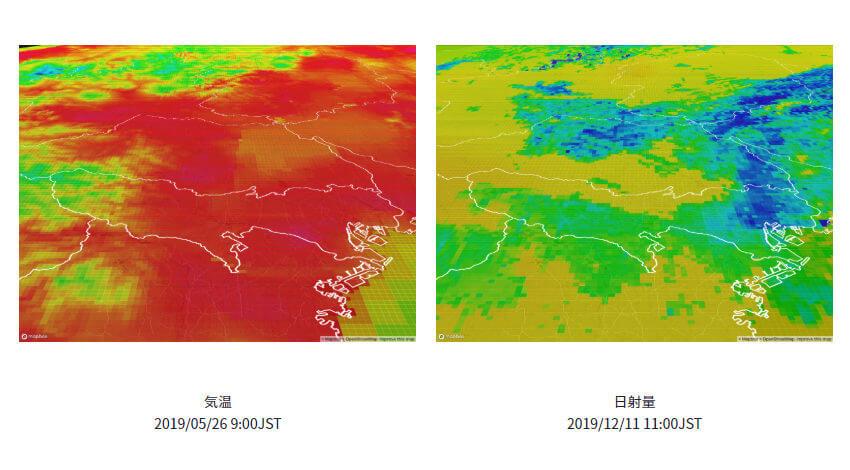 ウェザーニューズ、1kmメッシュの過去気象データを提供開始